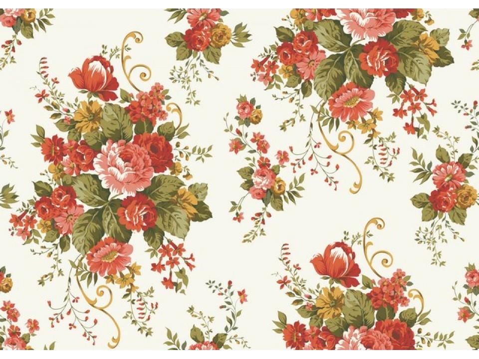 130267 - 2 Завеса букет с керемидени и жълти цветя