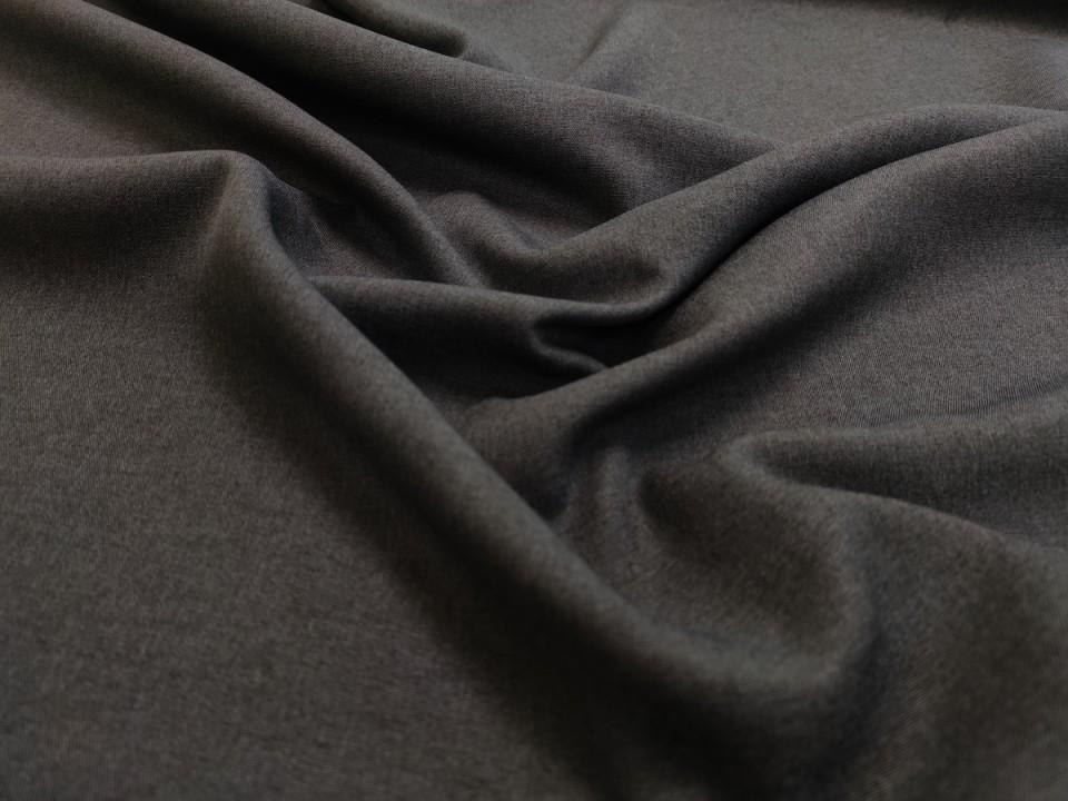 35281-dcm1047 Плат за завеси имитация на лен блекаут цвят тъмно сиво