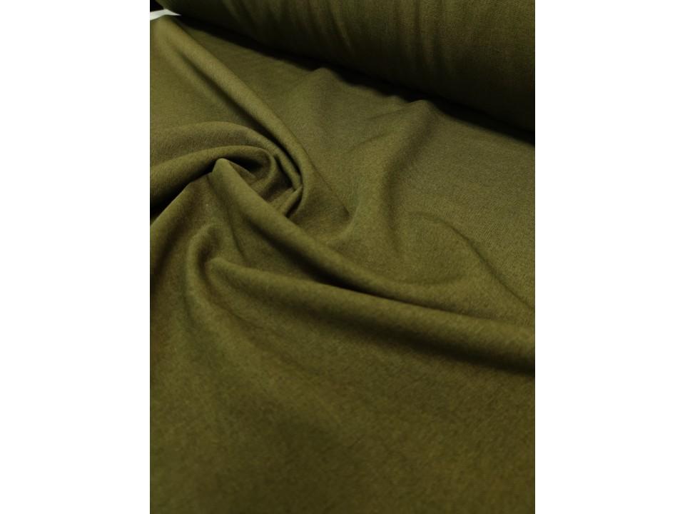 35281-dcy697 Плат за завеси имитация на лен блекаут цвят зелено