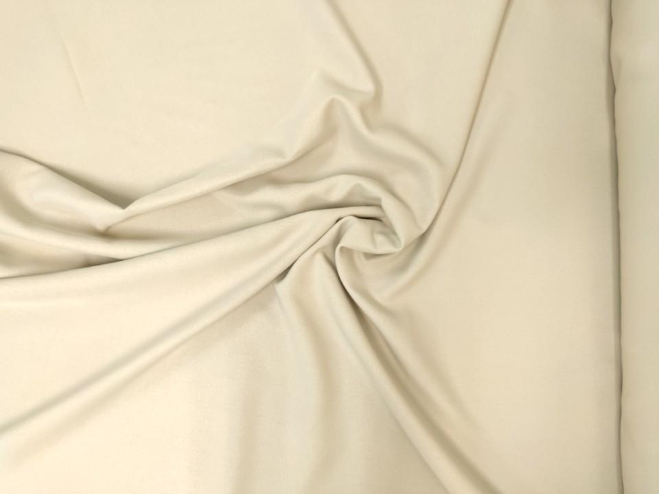 35281-dce242 Плат за завеси имитация на лен блекаут цвят крем