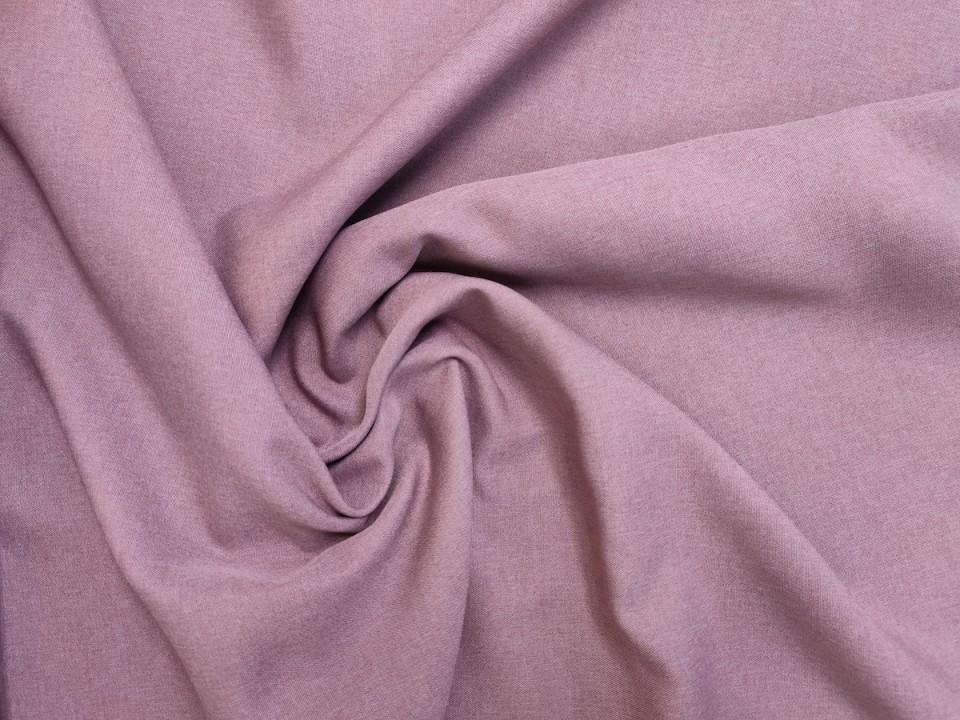 35281-dck1815 Плат за завеси имитация на лен блекаут цвят пепел от рози