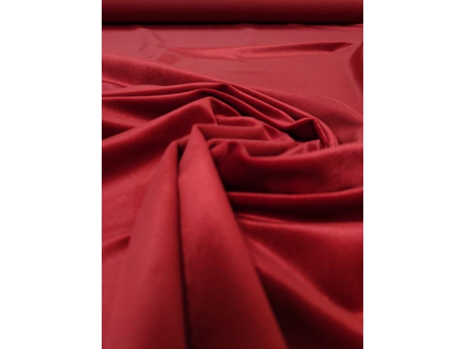 Плат 3838 Rio кадифе - цвят червено