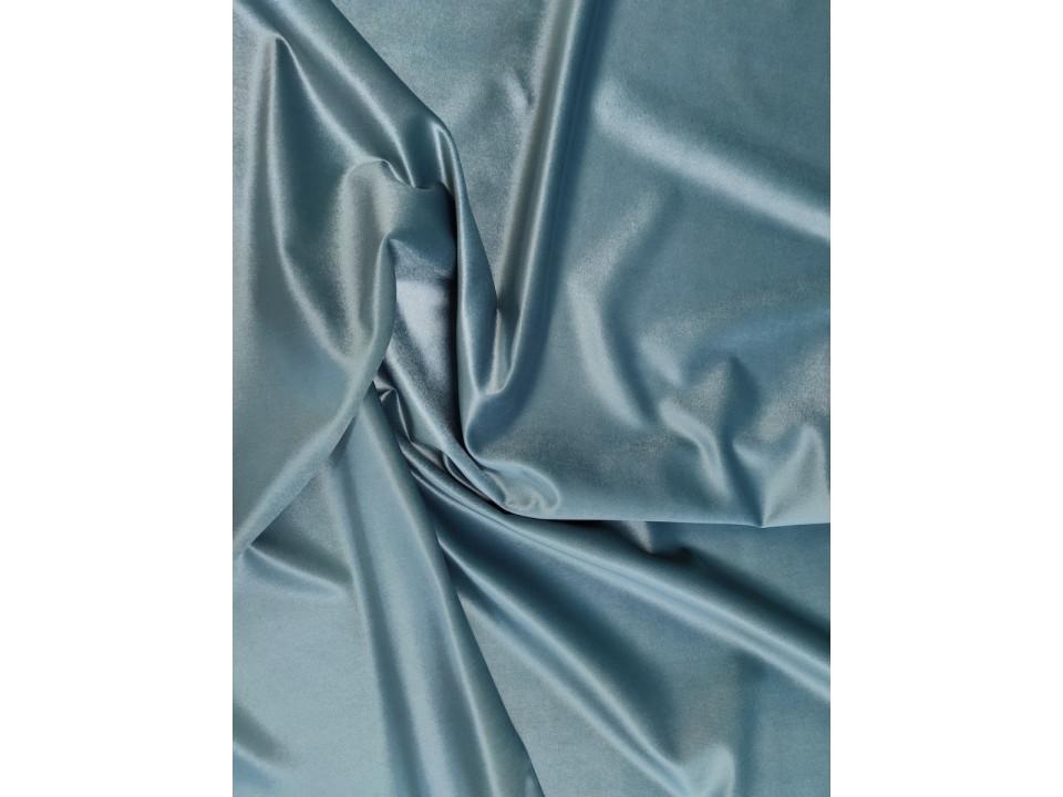 Плат 3838 Rio кадифе - цвят ледено синьо