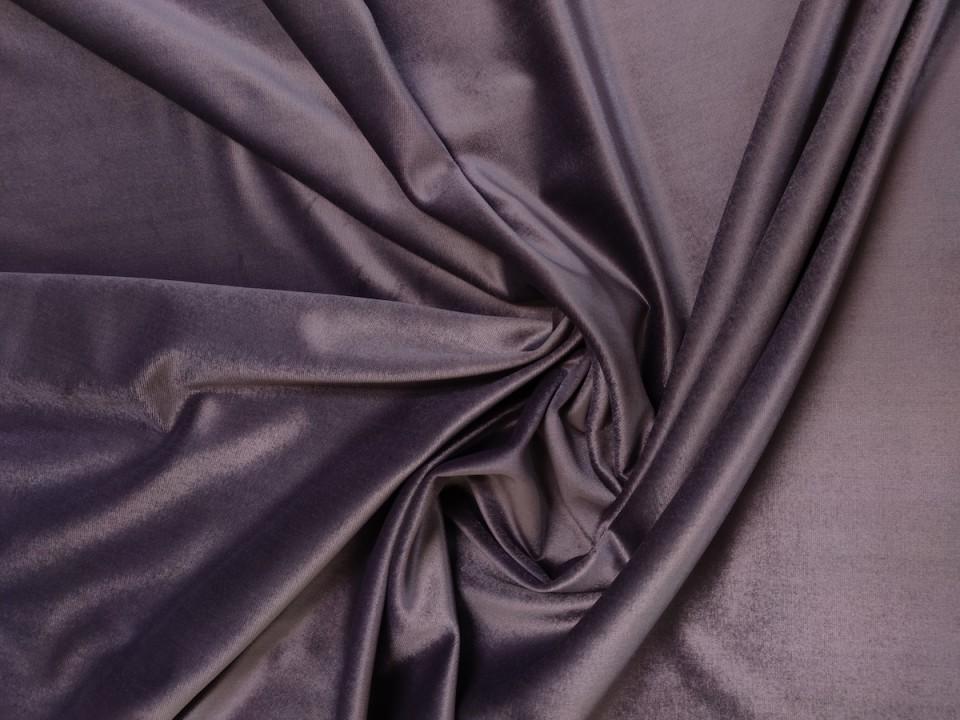 Плат 3838 Rio кадифе - цвят лилаво