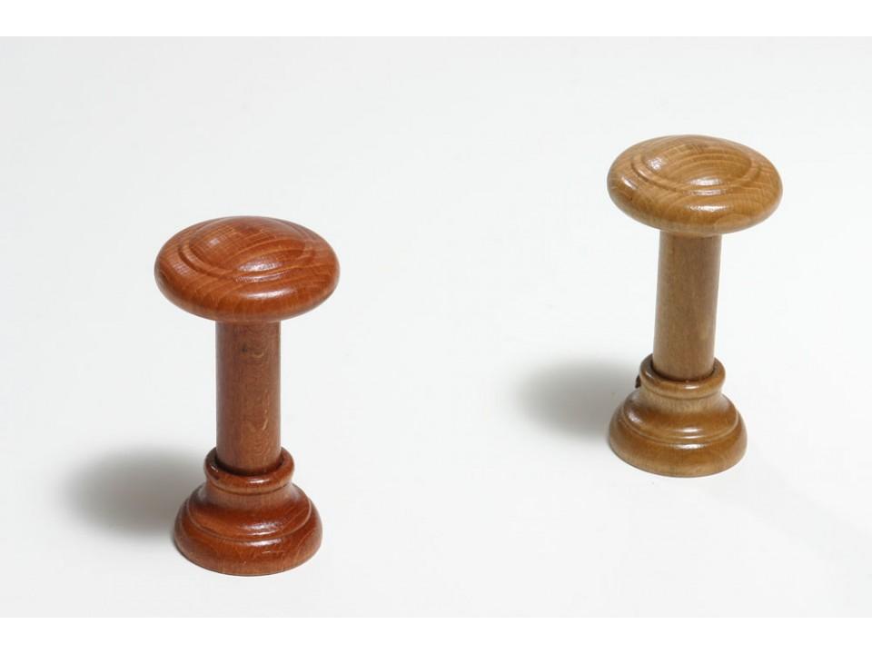 Държач за перде канела - меден дъб за 1 бр