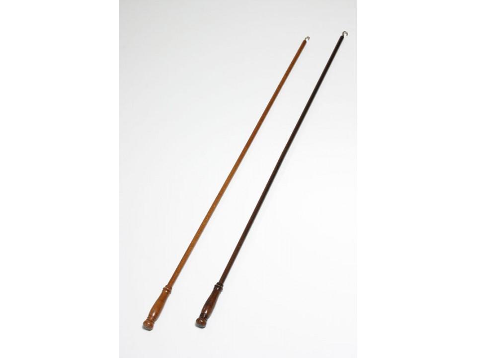 Дървен лост за придвижване на перде череша - тъмен орех - 1 бр