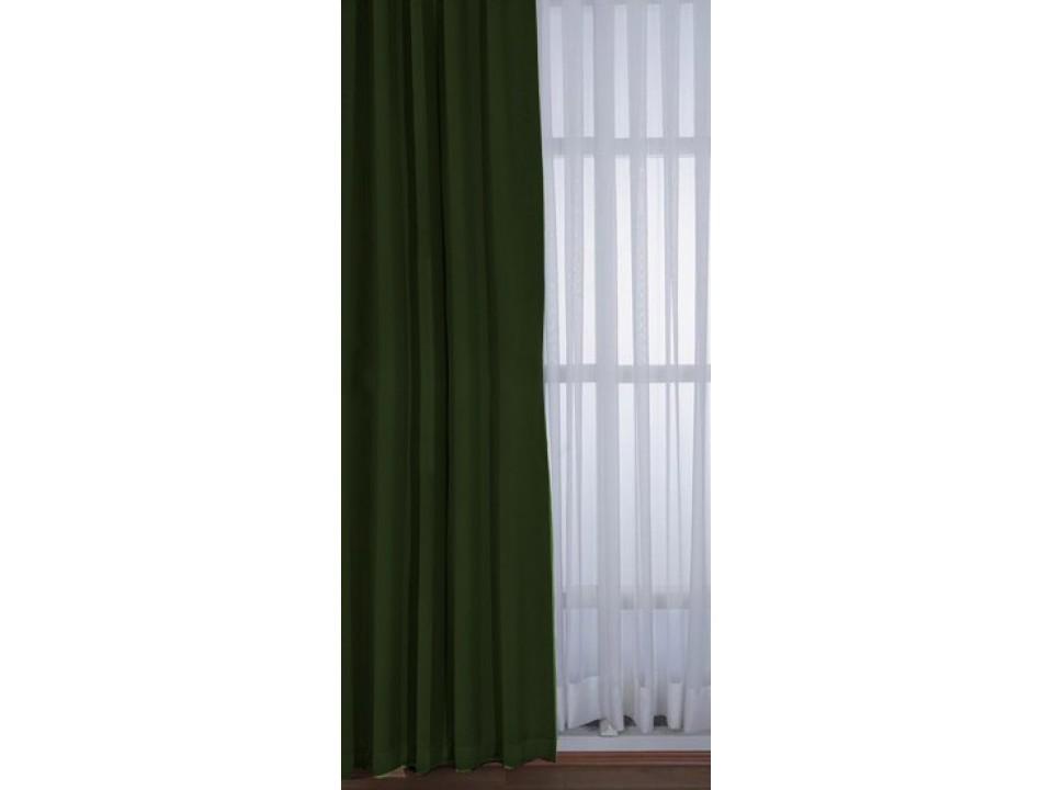 Блекаут Готова Завеса тъмнозелено